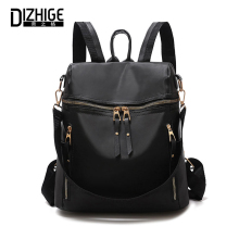 DIZHIGE Brand Luxury Solid Oxford Multi-pocket Women Backpack High Quality School Bag For Classic Multifunctional New