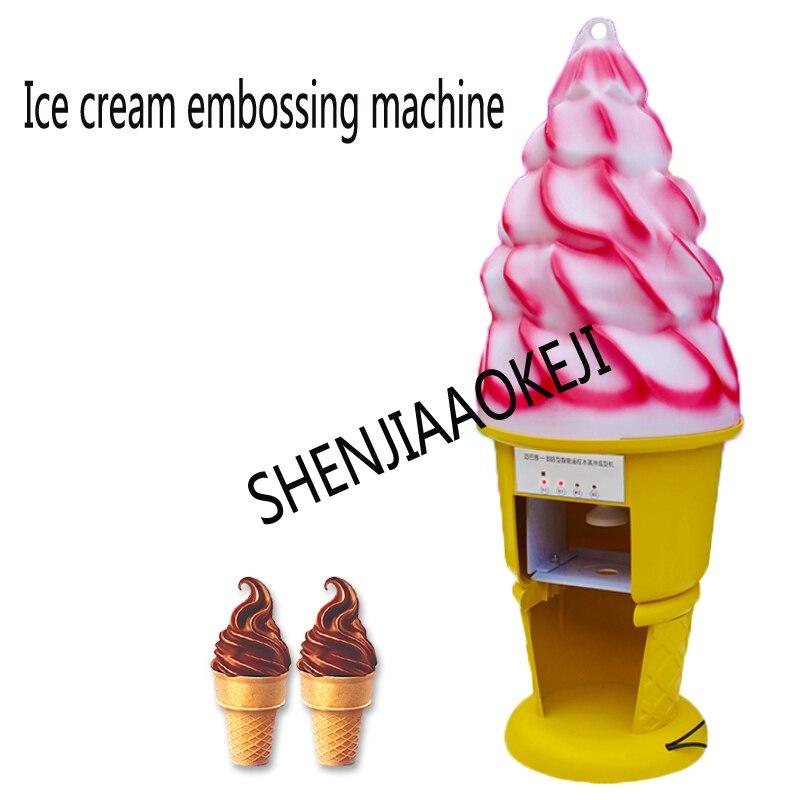 220V Ice cream embossing machine frozen yogurt ice cream mixing machine hard ice cream extruder 120W220V Ice cream embossing machine frozen yogurt ice cream mixing machine hard ice cream extruder 120W