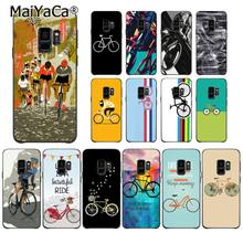 MaiYaCa BIKE CYCLING art Newly Arrived Phone Case for Samsung Galaxy S7edge S6 S10 Lite S10Plus S10E S8 S7 S9 Plus(China)