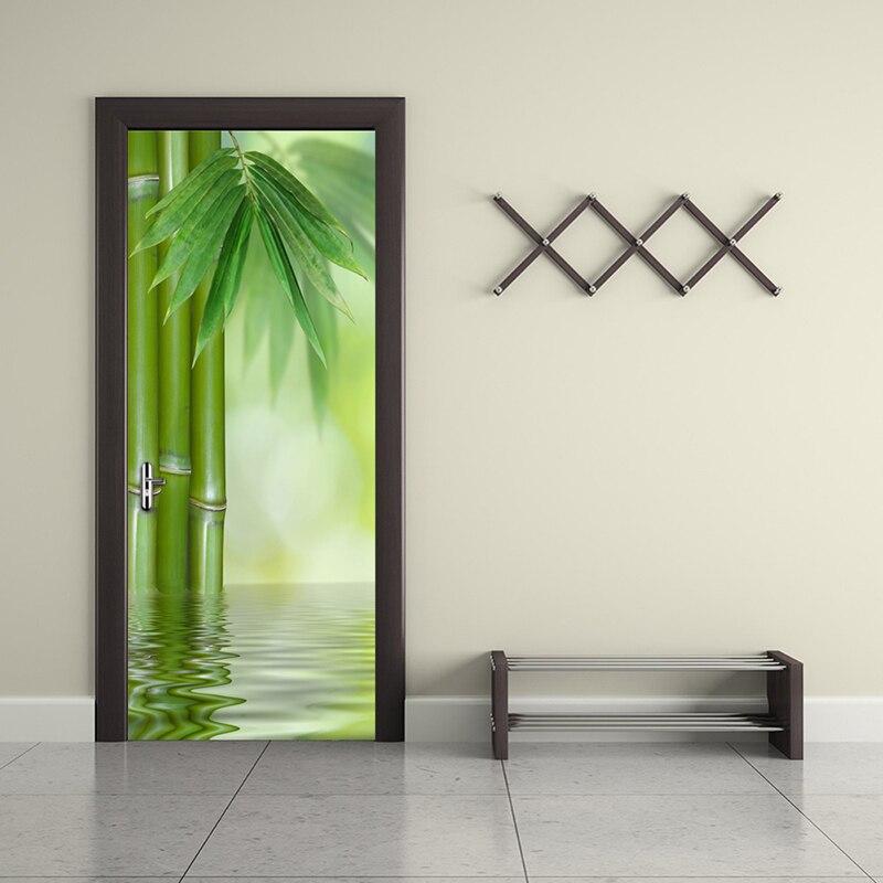 Grun Bambus Wald Blatt 3d Foto Tapete Wohnkultur Moderne Wohnzimmer