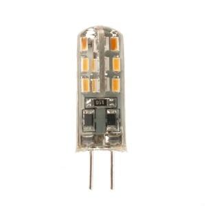 Image 2 - Lâmpada led g4 2w 12v/ac220v, 3014smd, 24led, luz branca quente/branca, 10 peças luz de led ângulo de 360 graus