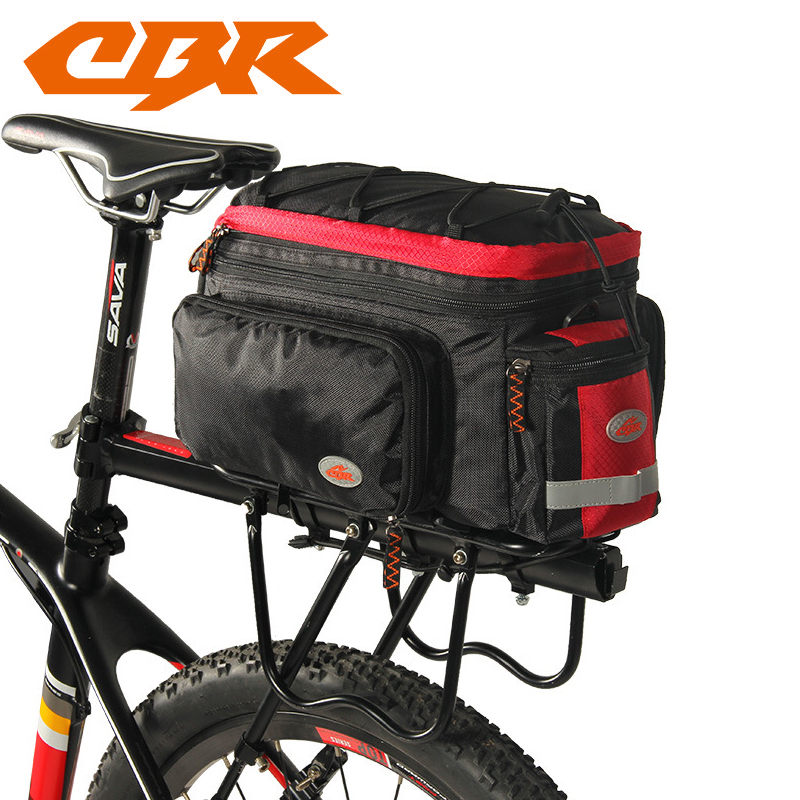 CBR Waterproof Cycling Bicycle Bag Bike Rear Seat Trunk Bag Handbag Rear Bike Panniers Mountain Bike Outdoor Accessories veobike men long sleeves hooded waterproof windbreak sunscreen outdoor sport raincoat bike jersey bicycle cycling jacket