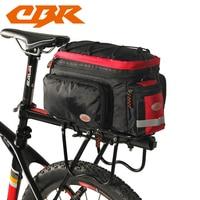 CBR Waterproof Cycling Bicycle Bag Bike Rear Seat Trunk Bag Handbag Rear Bike Panniers Mountain Bike Outdoor Accessories