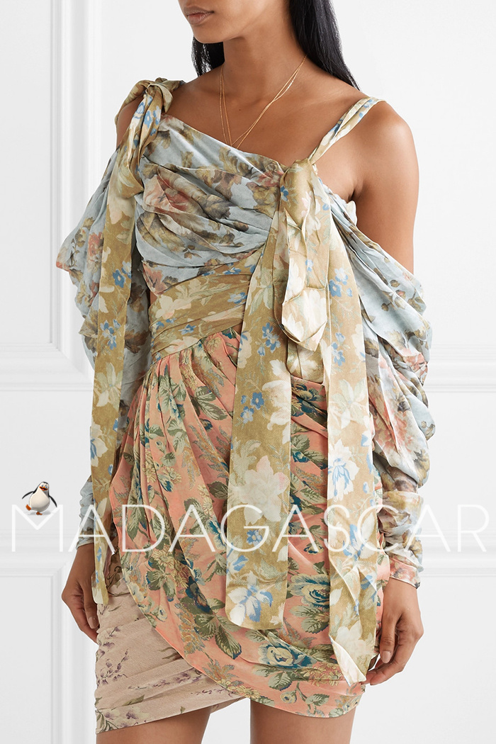 Pre-sale ~ 30 days can accept the purchase ~ mini silk dress quality dress 4