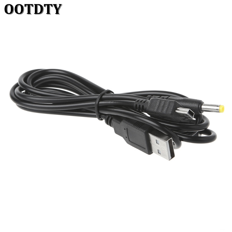 OOTDTY 2-In-1 USB Data Cable Charger Charging Cord For PSP 2000 3000 Gaming Accssories