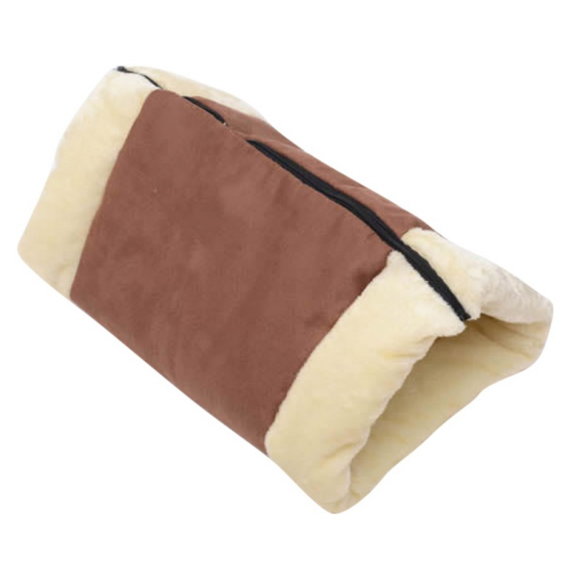 Cat Pet Bed Tunnel Fleece Tube Indoor Cushion Mat Pyramid Pad For Dog Puppy Kitten Kitty Kennel Crate Cage Shack House