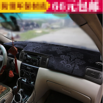 For Toyota Corolla Altis Fielder E120 E130 2003 2004 2005 2006 Flannel Dashmat Dashboard Cover Dash Pad Mat Carpet Car-styling