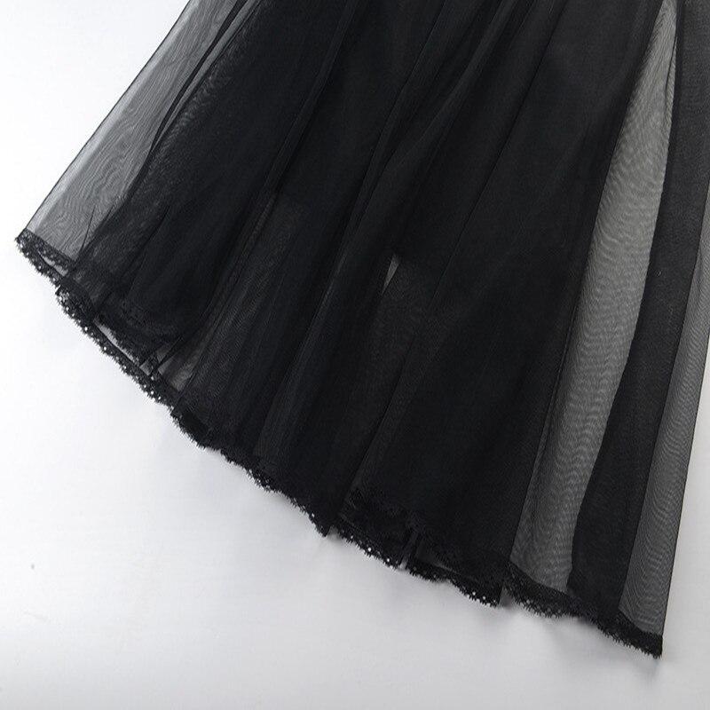 Dentelle Haut Élégante Patchwork Tricot Gamme Pull Femmes Sruilee Robe Maille Piste Nouveau En 2 Black De Automne 2018 Hiver Couches wqTw76CxX