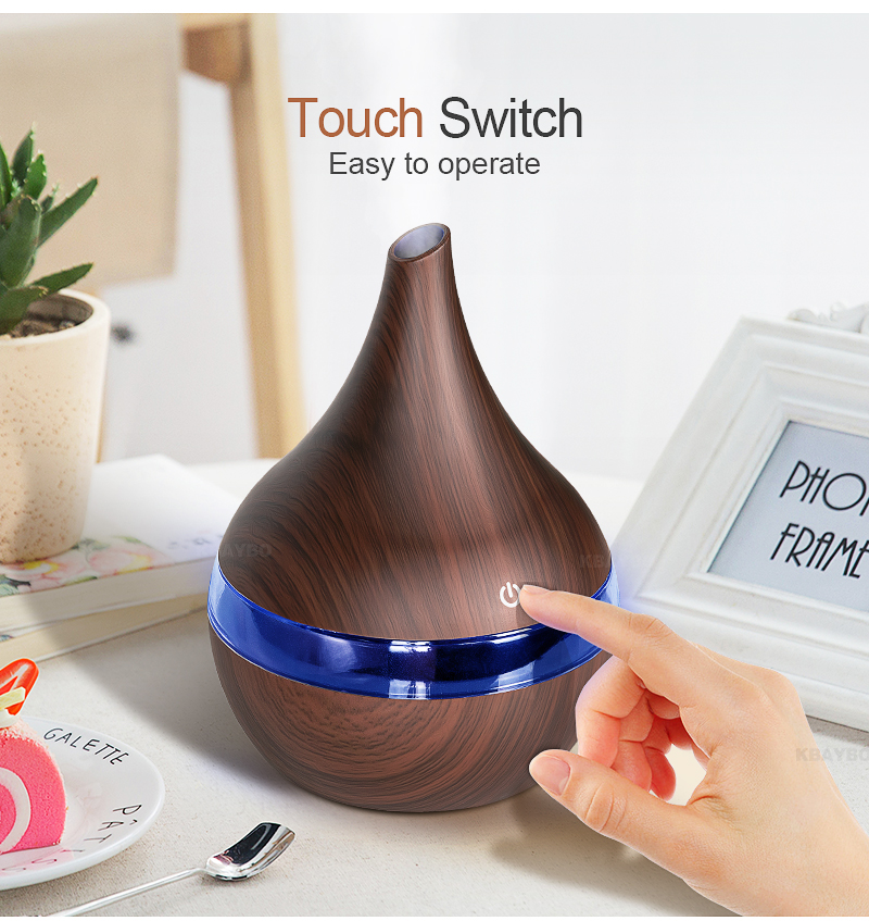 ultrasonic air diffuser with essential oils