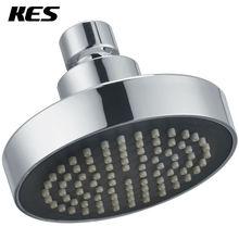 KES J335 душа Замена 4-дюймовый Насадки для душа с фиксированным креплением, полированный хром