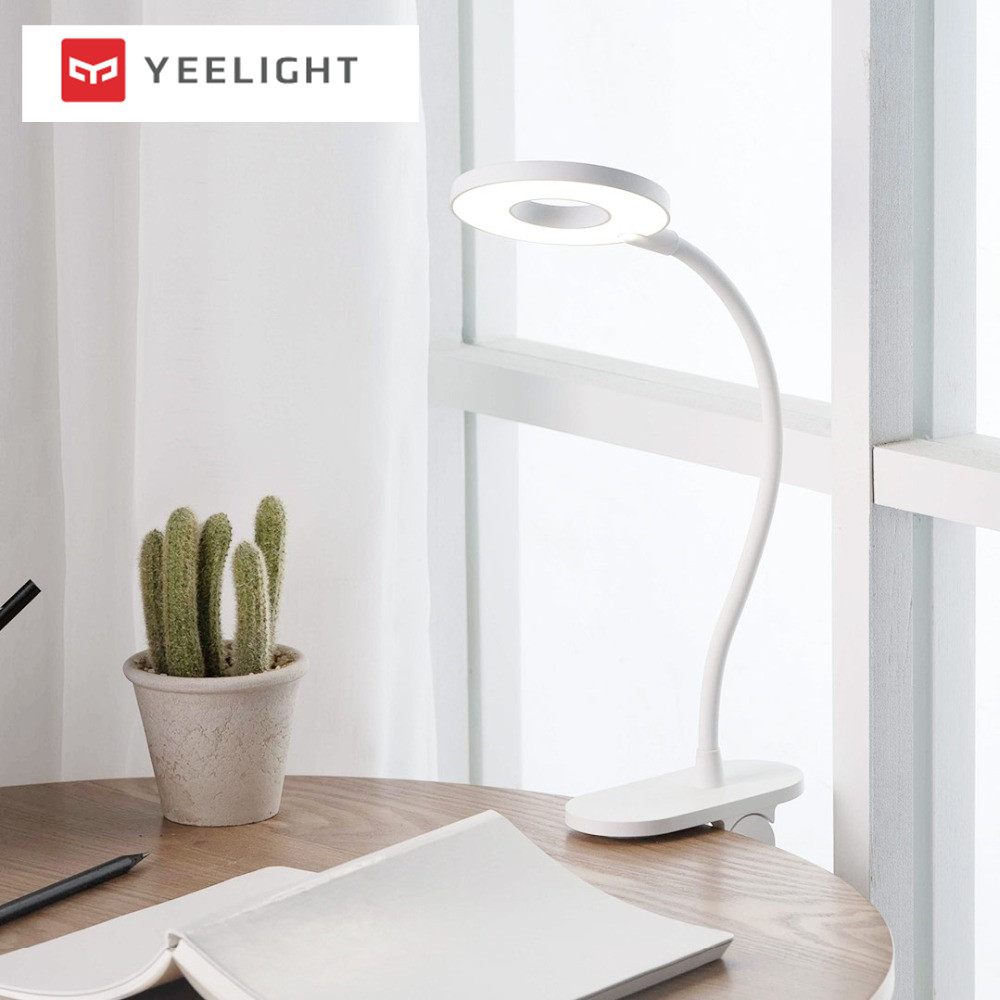 Image 5 - Xiaomi Yeelight LED Desk Lamp Clip On Night Light USB Rechargeable 5W 360 Degrees Adjustable Dimming Reading Lamp For Bedroom-in Smart Remote Control from Consumer Electronics