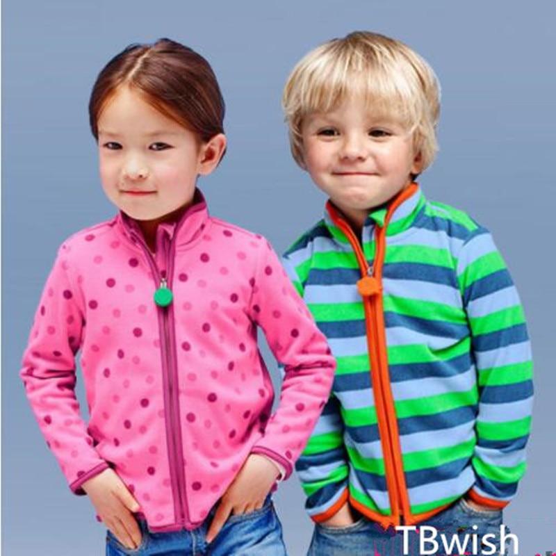 Tbwish/Весна и осень Для детей мальчик Толстовка для девочек флисовые куртки и пальто в полоску для маленьких мальчиков и девочек для маленьки... ...