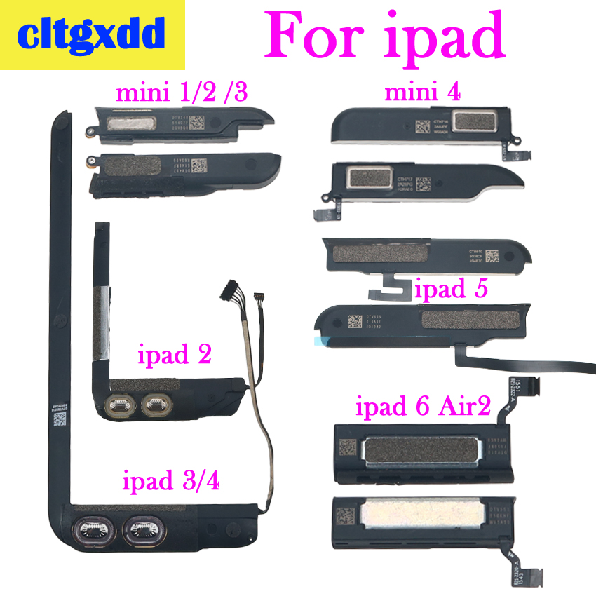 Cltgxdd Loudspeaker For Apple IPad 2 3 4 5 6 Air 2 For IPad Mini 1 2 3 4 Loud Speaker Ringer Buzzer Flex Cable Replacement Part