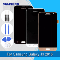 Samsung Original Super amoled LCD For Samsung Galaxy J3 2016 J320F LCD Display+Touch Screen Digitizer Assembly+Tools