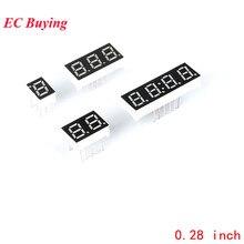 Led-Board Display Digital-Tube 4bit Common-Anode 7-Segment Diy 1bit Red 5pcs 3bit Electronic