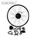 36V250W front legal electric bike hub motor kit e bike conversion kit disc brake with 20/26/28inch black rim