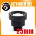 Nova 1/3 ''25mm MTV M12 CCTV Board Lens IR para Segurança CCTV Câmeras de Vídeo