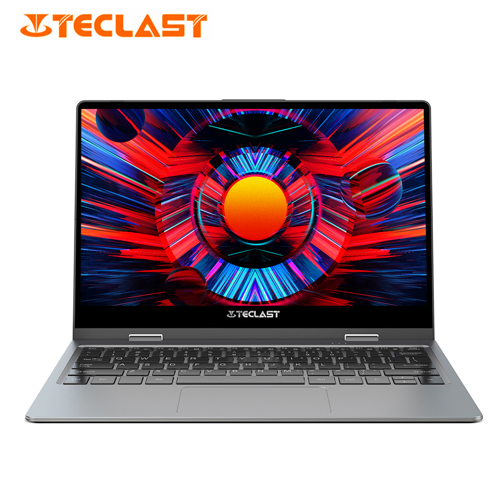 HOT Teclast F5R Laptop 11.6 Inch Windows 10 Intel APLLO LAKE N3450 Quad Core 8GB RAM 256GB SSD 360° Rotation Touch Screen HDMI(China)
