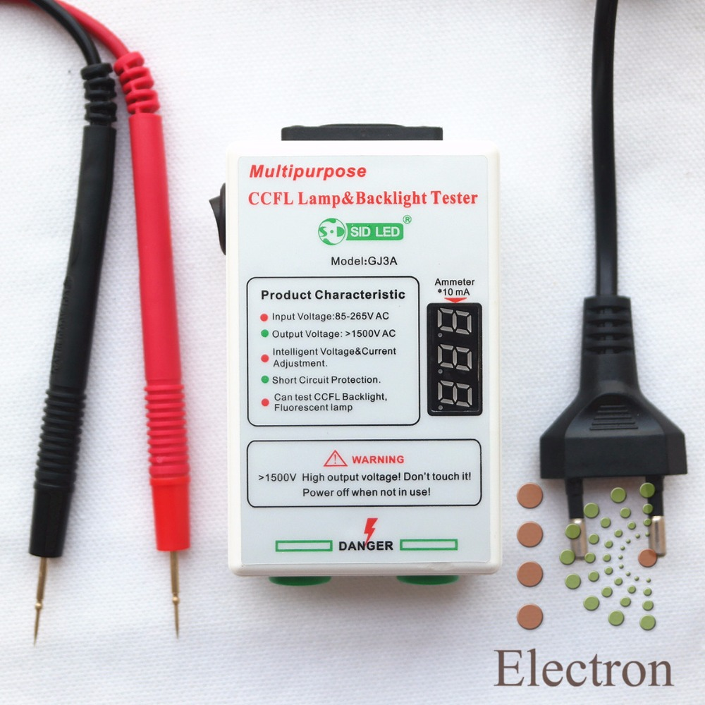 CCFL Lamp Backlight Tester for All Size LCD TV Laptop Current&Voltage Intelligent Adjustment