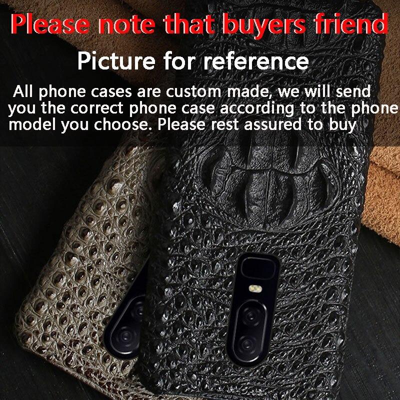 Marque Vachette téléphone étui pour iphone X crocodile motif demi-paquet mobile coque de téléphone couverture arrière de téléphone Portable - 6