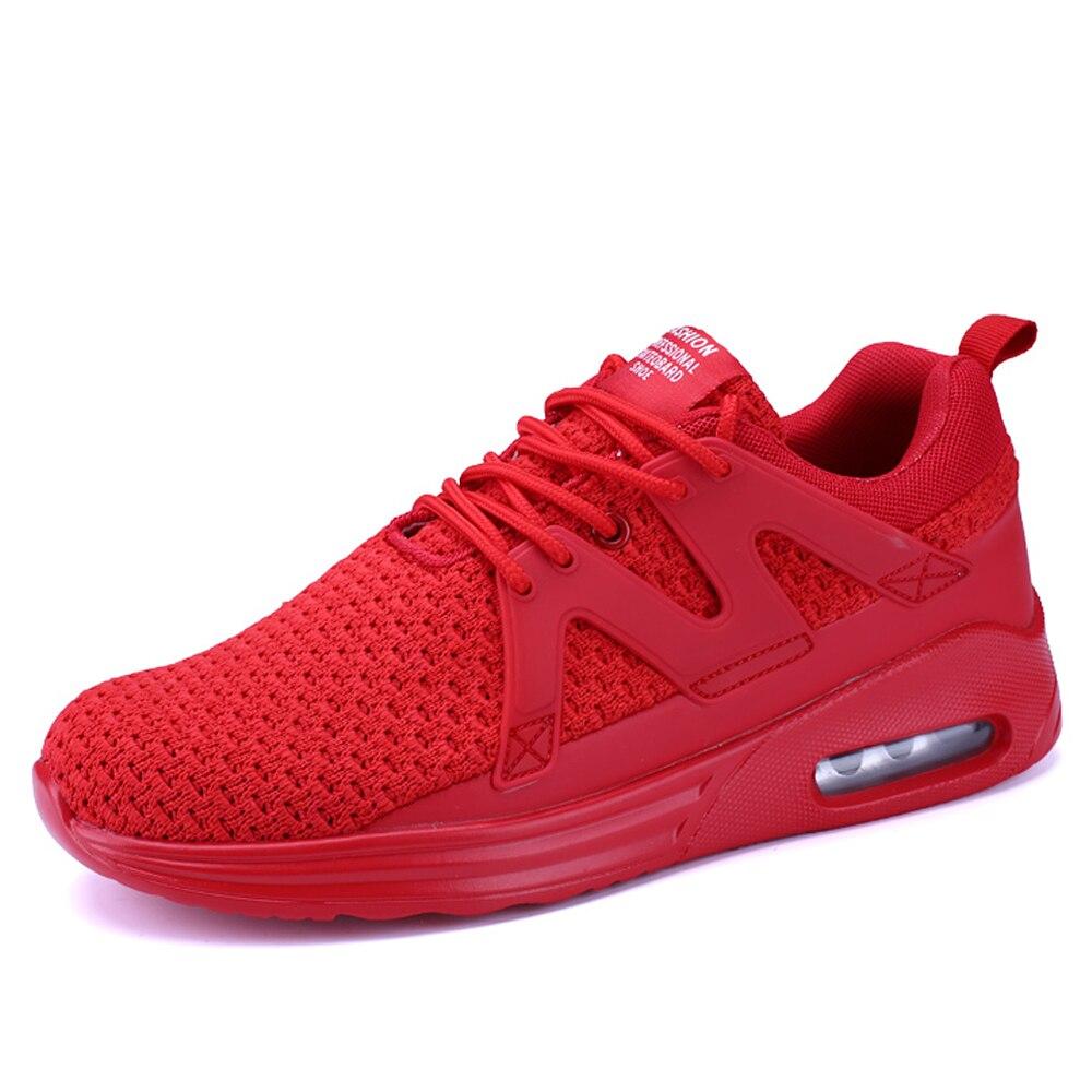 New Fashion Comfortable Causal Shoes Men Durable Flat Shoes Men Trainers Mesh Breathable Light Soft Men Flats