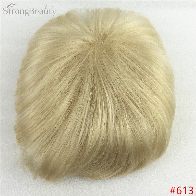 Сильная красота парик синтетические волосы парик выпадение волос топ кусок парики 36 цветов на выбор - Цвет: #613