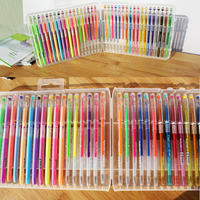 48 Colors Gel Ink Pen Diamond Tip Pastel Glitter Perfect Sketch Drawing Copic Markers Marker Manga