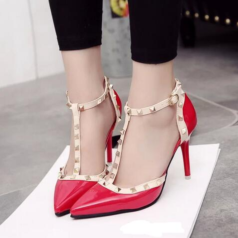 Red Gladiator Heels Promotion-Shop for Promotional Red Gladiator