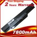 7800 mah bateria do portátil para asus x54c x54h x54hr x54hy x54l x54ly laptop a32-k53 a41-k53