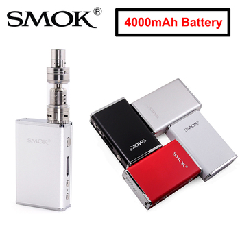SMOK VAPE Mod SMOK R80 Mod With 4000mah Battery TFV4 Mini Tank 80W E-Cigarette Vaporizer Suit for 510 thread Tank Starter KIT