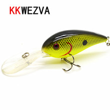KKWEZVA 15G 10.5cm Big Temptation Fishing Lures Minnow Crank Bait Crankbait Bass Tackle Treble Hook bait wobblers fishing