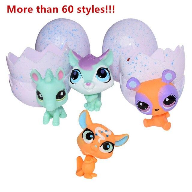 Ovos Ovo Surpresa Engraçado Cavalo Unicórnio Animal Bonito Dos Desenhos Animados quente Surpresa Boneca Brinquedo de Estimação Colorido Boneca Animal Brinquedos para As Crianças