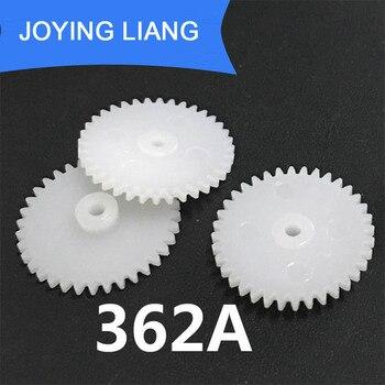 362A 0.5M 36 Teeth 2mm Shaft Tight Pom Plastic Pinion Gear Toy Model Gear (2500pcs/lot)