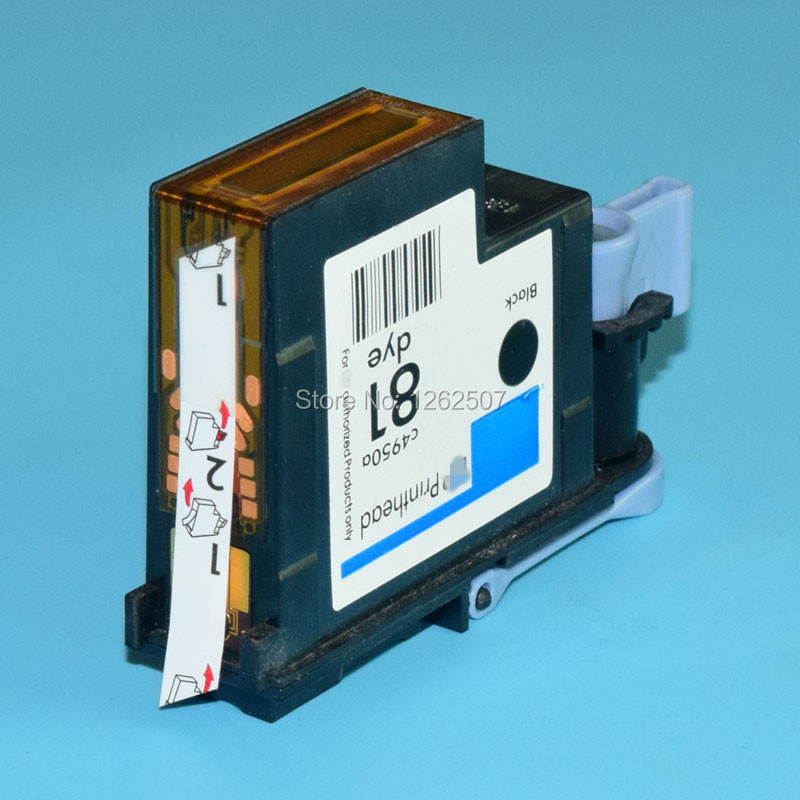 HP81 High quality Remanufactured print head C4950A For HP Designjet 5500 5000 5000pc 5500ps Plotters printer head 1 set compatible print head 6 color for hp 81 for designjet 5000 5500 5500ps for hp81 printhead c4950a c4955a cartridge head