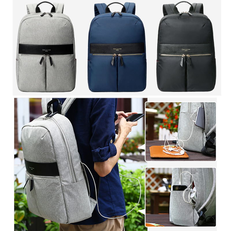 Cartinoe New waterproof Laptop Backpack Notebook Backpack Women Men Computer Bag Laptop Bag For 15-inch Travel Hiking School Bag kingsons brand waterproof men women laptop backpack 15 6 inch notebook computer bag korean style school backpacks for boys girl