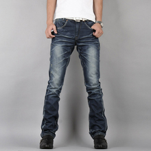 Men's Jeans Fashion Brand Jeans Large sales Distressed Jeans Fashion Acid Washed Slim Jeans men's trousers