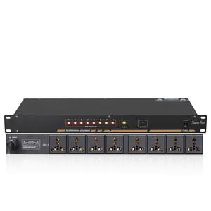 Image 1 - Toma de corriente profesional de 8/10 vías, con lentejuelas, pantalla de voltaje, interruptor independiente, SR 310