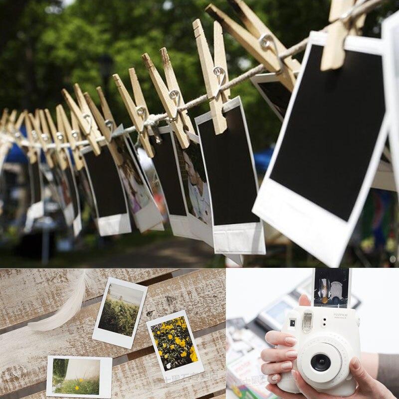 100 feuilles Fujifilm Instax Mini film pour appareil Photo instantané Mini 8 7 s 25 50 s 90 bord blanc 3 pouces Film Photo papier - 6