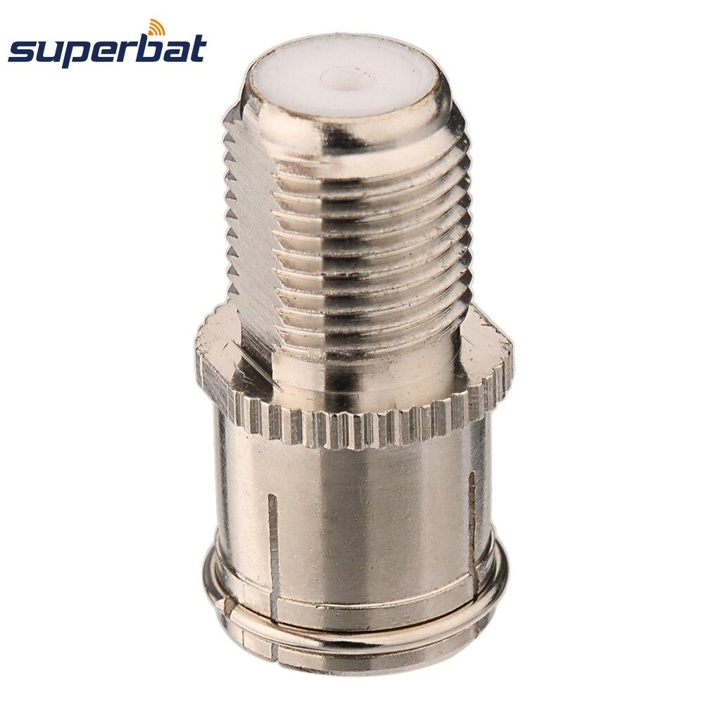Superbat 5 Pcs Rf Adaptateur Dvb T Tv Tuner Antenne Adaptateur F
