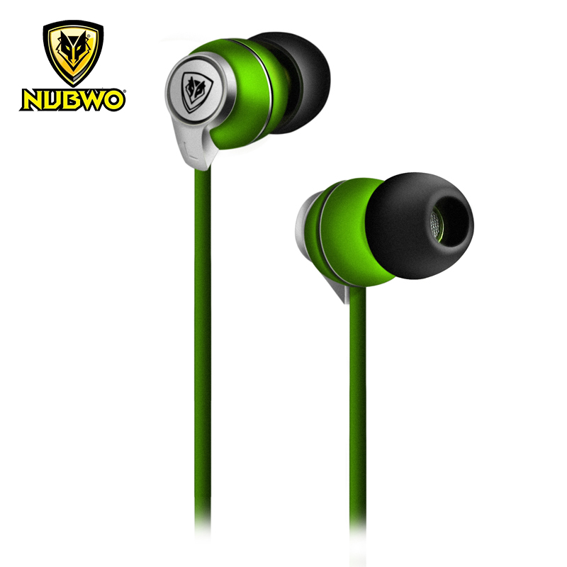 все цены на NUBWO NS-202 3.5mm Mega Bass Stereo Earphone In-ear Earbuds With Microphone For iPhone Android MP3 MP4 PC Gaming Earpods онлайн