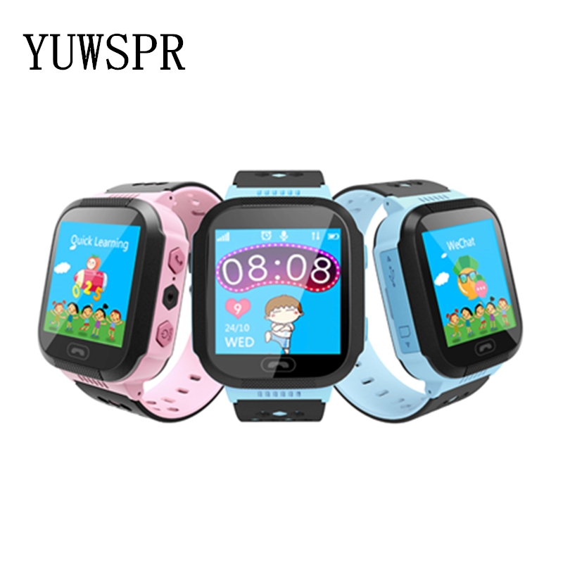 Kids Tracker Watch LBS Location Camera Support Android IOS 1.44` Touchscreen Smart Watches 3~12 Years Children Gift Q528