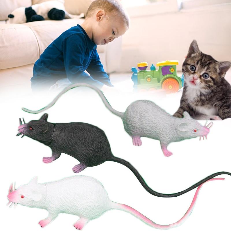 Simulation Mouse Display Funny Fake Mouse Toy Tricks Jokes PVC Prank Mouse Model