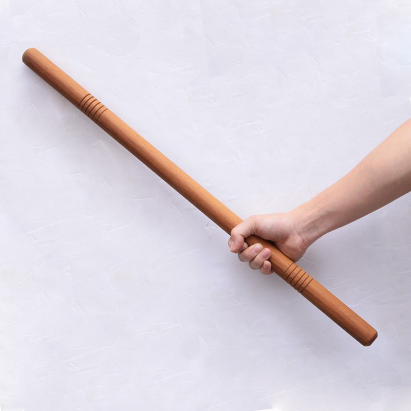 Red Martial Arts Stick Self-defense Short Sticks White Wax Cane  Fighting Stick Wand Car Self-defense Household Stick