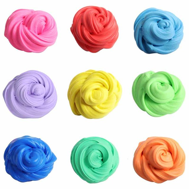 10 Colors DIY Slime Magnetic Mud Strong Plasticine Putty Magnetic Clay Education Toys Stress Relief Kids Gift #E