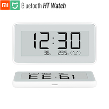 Original Xiaomi Mijia Bluetooth HT Watch Hygrometer Thermometer High Sensitive E Ink Screen Magnetic Sticker Stand Low Consume
