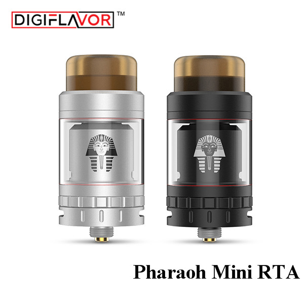 preorder Digiflavor Pharaoh Mini RTA 2ML upgrade from pharaoh RTA Airflow Control System for 510 Thread ECigarette RTA Vape Tank купить автомобиль с пробегом паджеро в москве