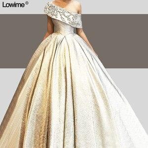 Image 4 - 新ファッションプラスサイズの王女 Quinceanera のドレス A ライン甘い 15 ワンショルダー誕生日パーティー vestidos デ 15 各公報