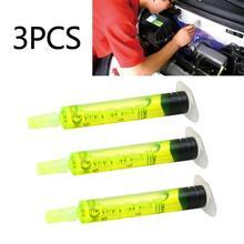 все цены на 3PCS/Set Car Frozen Tracer Oil High Concentration R134a R410 R12 Car Fluorescent Auto Air Conditioning Refrigerant 2.5ml Each онлайн
