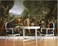 Custom 3D Large Murals The World Famous Oil Painting Papel De Parede Living Room Sofa TV
