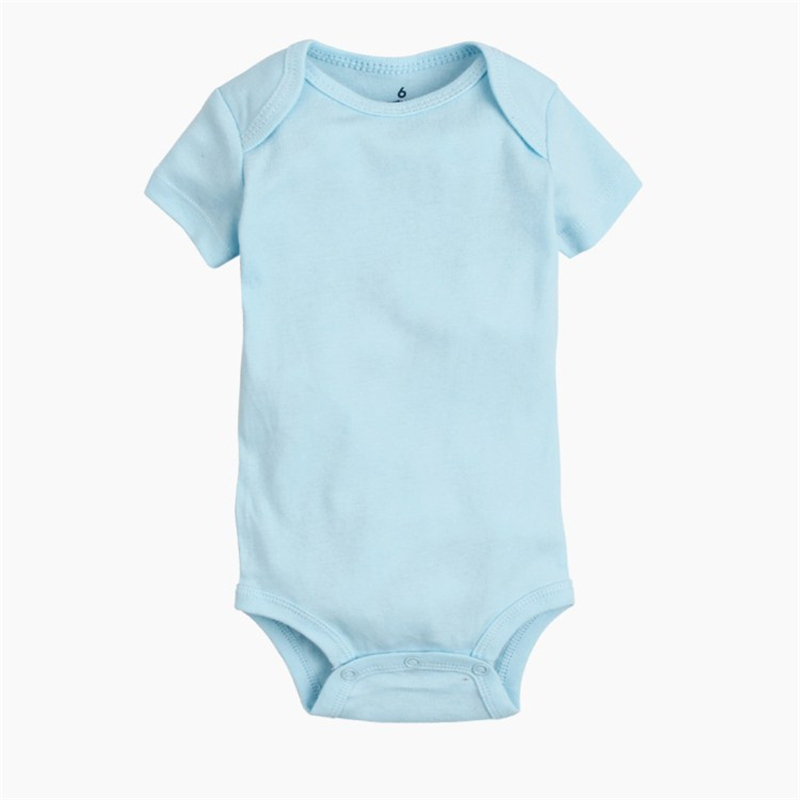 Cotton Baby Rompers Summer Baby Boy Clothes Solid Newborn Clothing Short Sleeve Baby Girl Clothing Roupas Bebe Infant Jumpsuits cotton baby rompers set newborn clothes baby clothing boys girls cartoon jumpsuits long sleeve overalls coveralls autumn winter